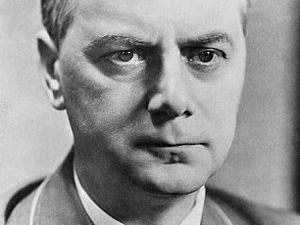Harrowing tales: A diary has been recovered which belonged to Hitler confidant Alfred Rosenberg with the chilling language of the fascist regime