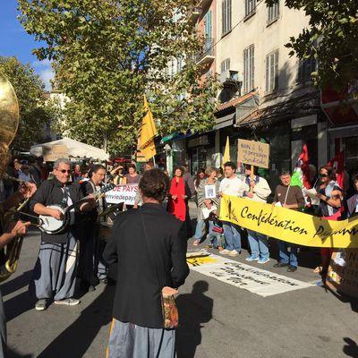 Contre la Ferme des 1000 vaches : le Parti de Gauche 83 mobilisé