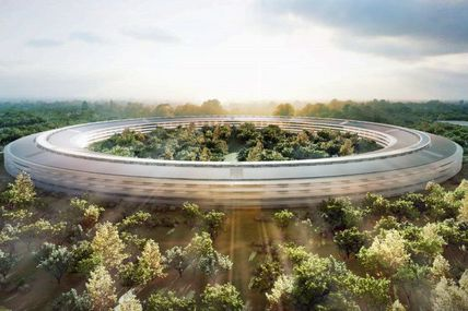 RT @mashable: Apple Claims Its New Spaceship...