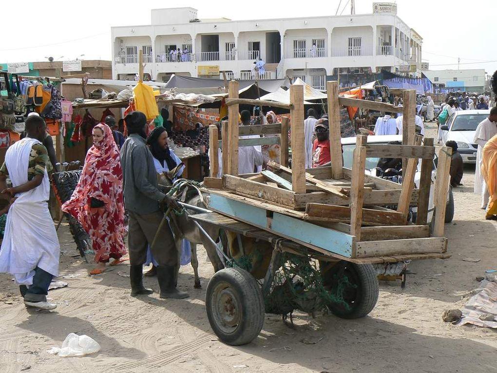 Le marché de Nouakchott.