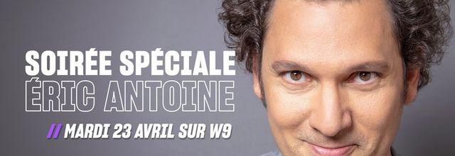Éric Antoine à l'honneur avec un spectacle et un documentaire ce soir sur W9