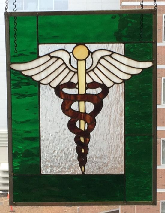Caduceus stained gla