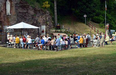Messe festive de fin d'année à la Grotte d'Algrange