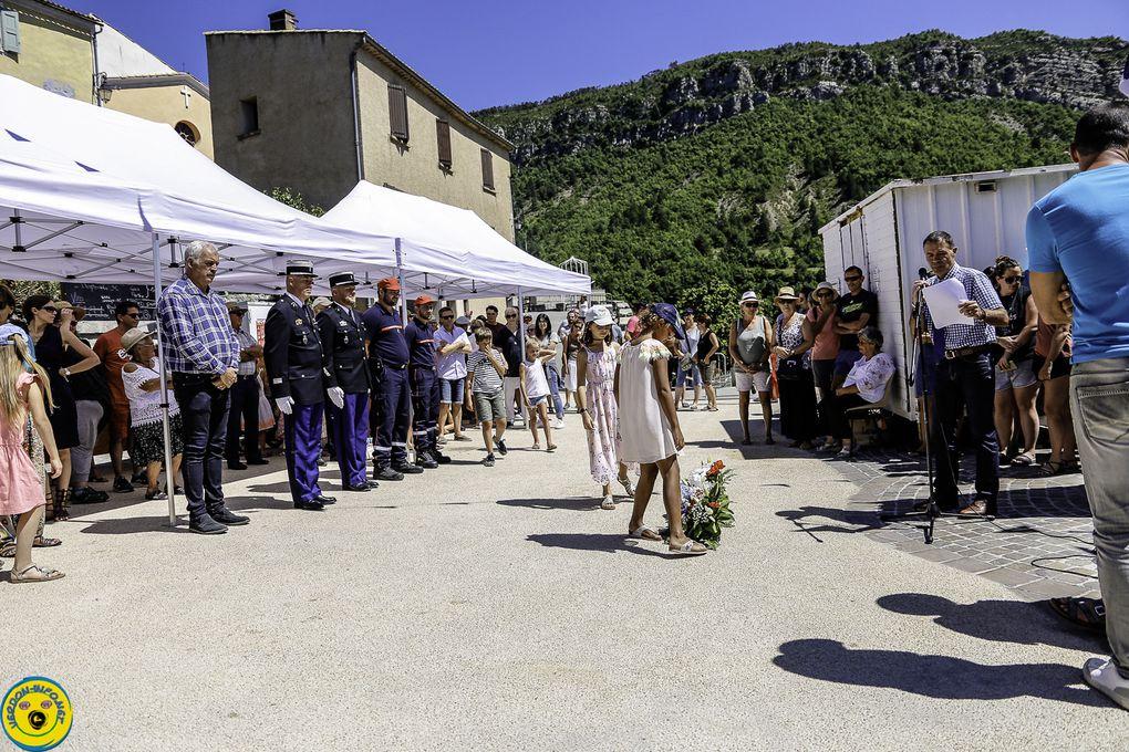 Festivité de St Julien du Verdon réussite totale
