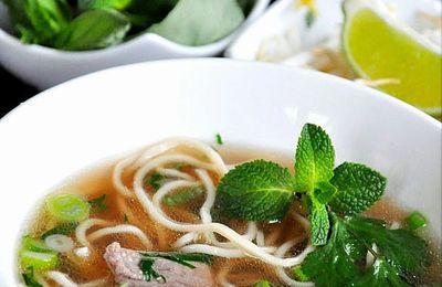 Soupe Phô au boeuf
