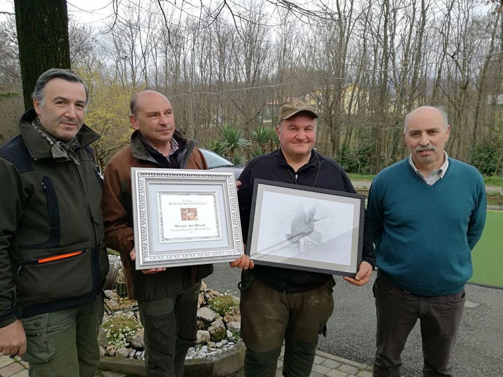 Esito Gara Cani da Ferma su Beccaccia a Treviso: premiato il campione Regionale 2018.