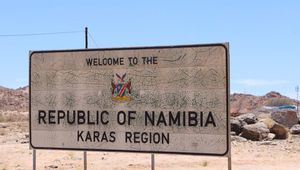 26/11 - Welcome to Namibia!