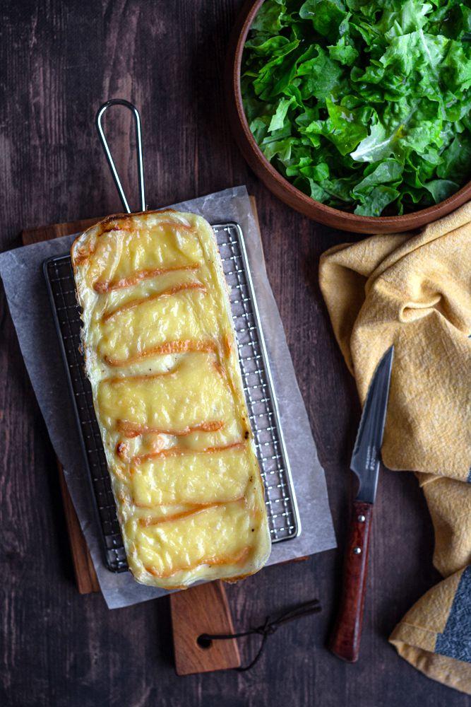 croques cake jambon maroilles