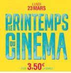 La fête du cinéma à Cinélaudon. Tarif unique 3€50 pour 2 séances Lundi 23 mars 18H00 & 20H30