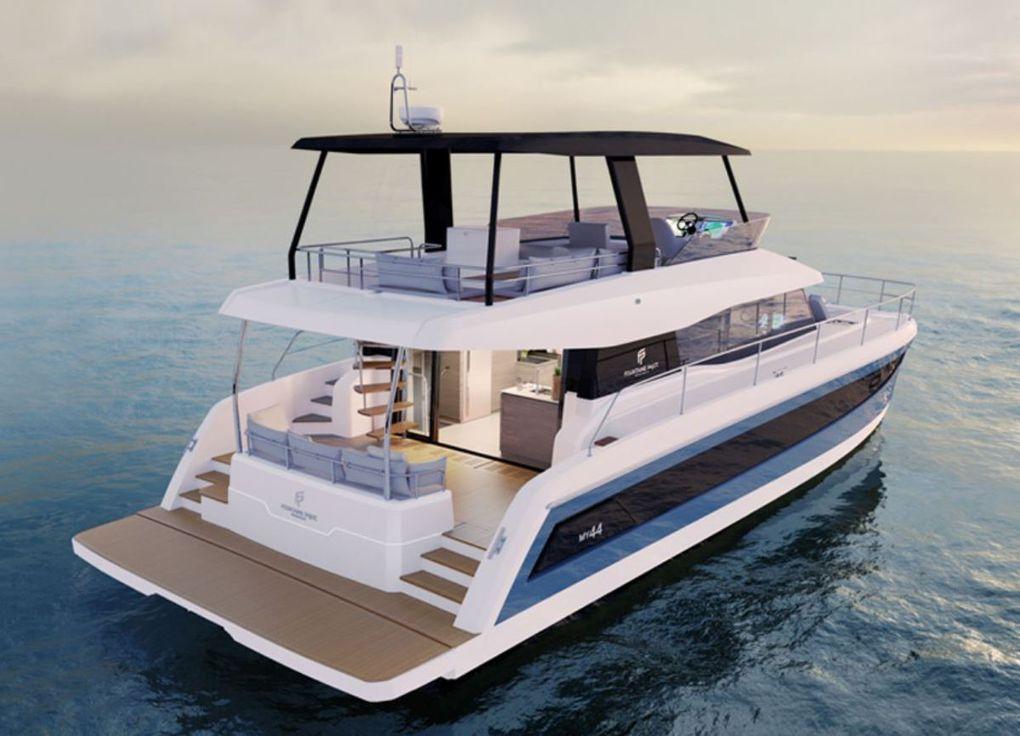 SCOOP - MY 44, le nouveau motoryacht catamaran de Fountaine-Pajot