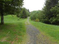 Panorama et vue du chemin