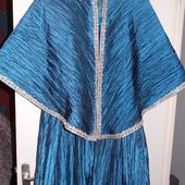 Tuto Robe de bal Bleue Enfant - Demereenfils.com : Blog Couture a quatre mains