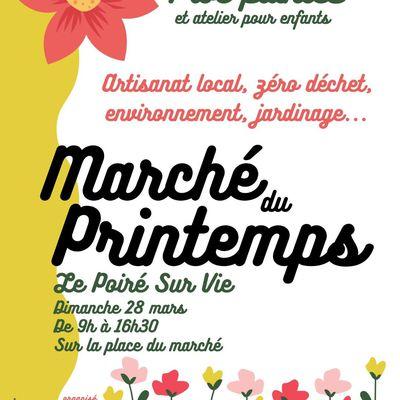 Marché du printemps - Article dans le journal Ouest-France aujourd'hui