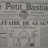 La conclusion de l'affaire de 1892 dans la presse - Le blog des Poggiolais