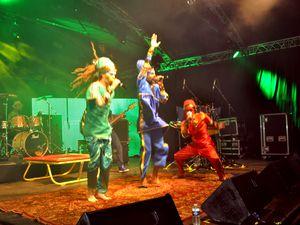 Le groupe Roots Intention Crew (R.I.C.) à Algrange Music Live en 2013
