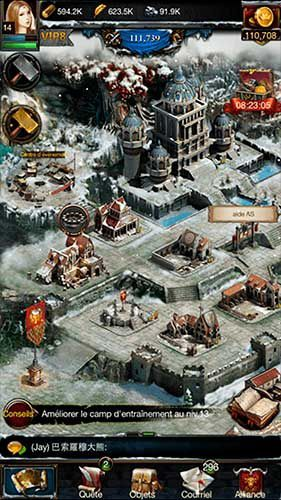 Clash of Kings sur iPhone, iPodT, iPad, PC, Web, Mobiles