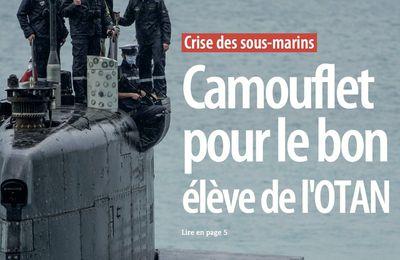 Vente de sous-marins américains à l'Australie. Déclaration du mouvement de la paix