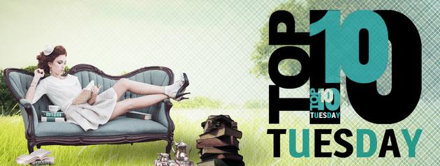 Top Ten Tuesday #40 — 10 livres avec une leçon de vie dernière