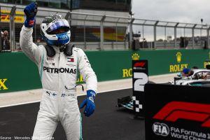 Bottas plutôt qu'Ocon pour Mercedes