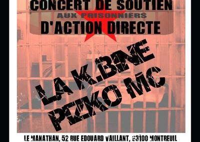 La K-Bine - Action Directe - Concert 11 mars 2007