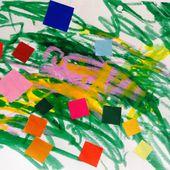 Séance de peinture et collage pour tout petits (avec les miss de deux ans) - Le blog de fannyassmat, le quotidien d'une assistante maternelle en mille et une anecdotes