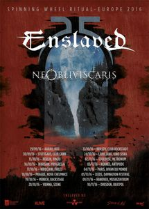 ENSLAVED on tour in Europe in autumn 2016