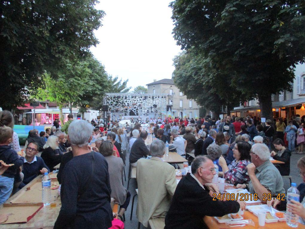 Retour sur la soirée de vendredi - ouverture des festivités à Maurs