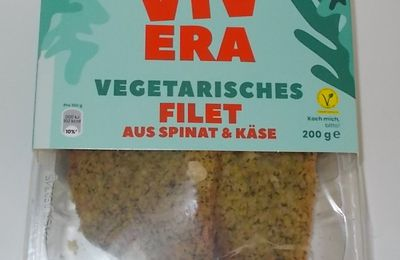 Vivera Vegetarisches Filet aus Spinat & Käse