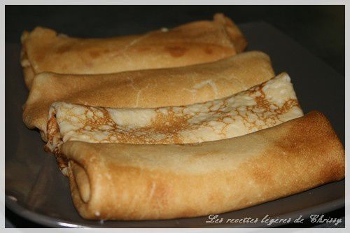 CREPE FOURREE BECHAMEL JAMBON FROMAGE (thermomix ou non )
