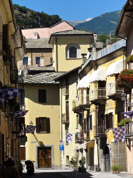 Susa, Italie, août 2013