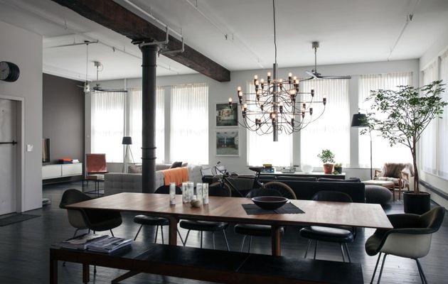 Un loft new-yorkais délicieusement masculin