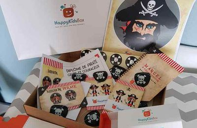Test : HappyKidsBox une box anniversaire