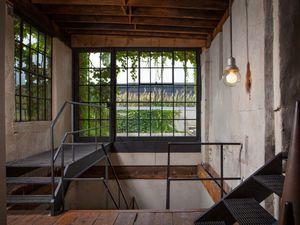 Un loft dans une ancienne usine à charbon