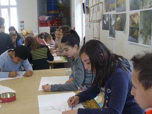 A nos crayons!