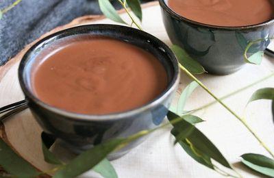 Crème chocolat au potimarron { sans gluten, sans lait, sans œufs }