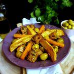 Tajine de blanc de poulet aux olives