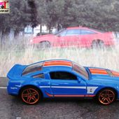 10 FORD SHELBY GT 500 2010 HOT WHEELS 1/64 - car-collector.net