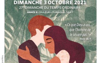 Paroisses de Genlis et Saint Just de Bretenières - Semaine du 2 au 10 octobre 2021 - 26ème dimanche ordinaire B
