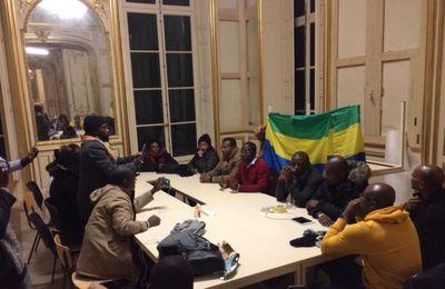#Gabon / L'hôtel Pozzo di Bongo* envahi par des opposants gabonais à Paris !