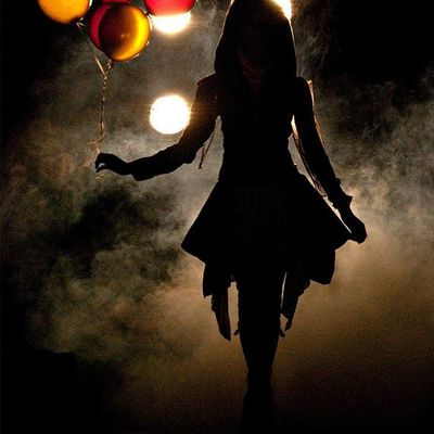 Femme - Ballons - Nuit - Picture - Free