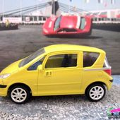 PEUGEOT 1007 COULEUR JAUNE NOREV 3 INCHES - car-collector
