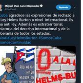 Le président cubain remercie la communauté internationale du rejet de la loi Helms-Burton