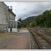Les gares d'Auvergne: Vic sur cère Cantal - L'Auvergne Vue par Papou Poustache