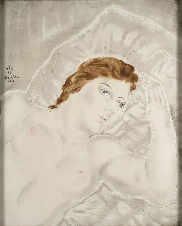 Femmes : nus, portraits dont celui de Kiki de Montparnasse et conversations entre amies