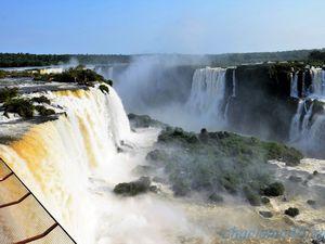 Les chutes d'Iguazu (Brésil en camping-car)