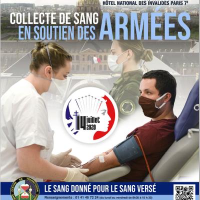 Collecte de sang du 14 juillet : Le sang donné pour le sang versé, ils ont besoin de vous !