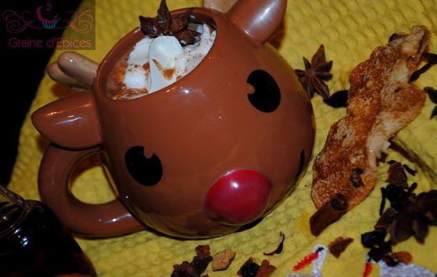 Chocolat chaud aux Epices de Noël