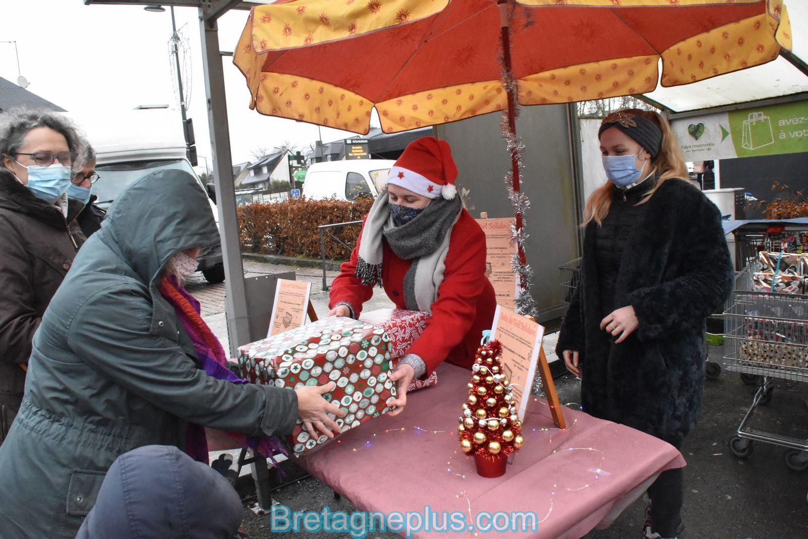 Boîte de Noël Solidaire Rennes