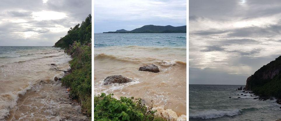 La couleur du ciel (21-16)... et de la mer...