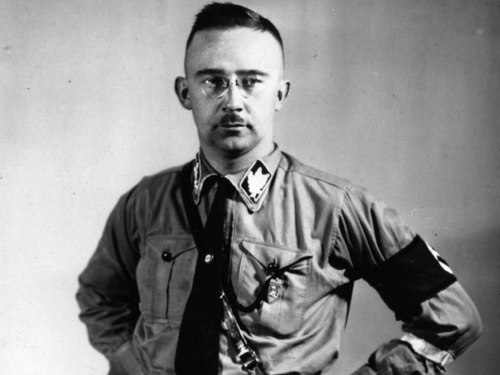 After being captured at the end of the Second World War, Heinrich Himmler killed himself before he could be put on trial (Getty)